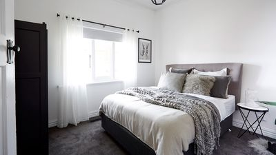 """Impressed with the room Neale believed Ronnie and Georgia """"thought about glamour, style and luxury""""."""