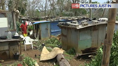 It is estimated up to 100,000 people have been left homeless. (9NEWS)