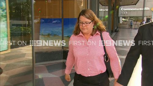 """Sarah Johnston, 50, allegedly told a colleague it would be a """"conflict of interest"""" if she was breath tested. (9NEWS)"""