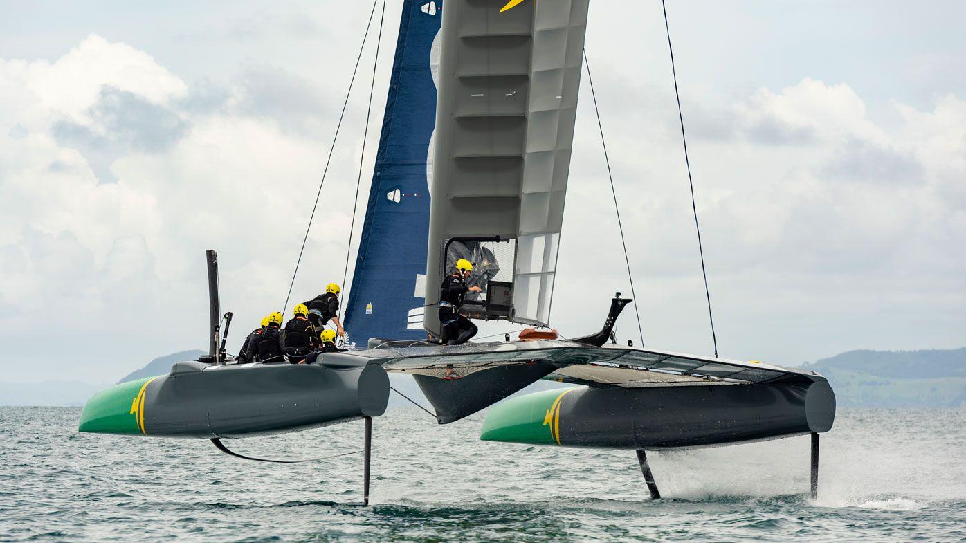 F50 sailing boat