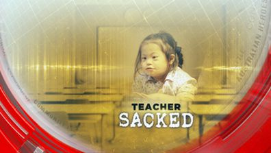 Teacher sacked