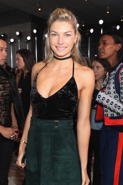Jess Hart at Tory Burch, New York Fashion Week