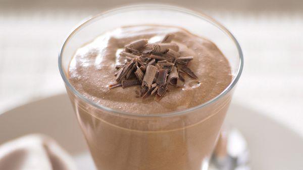 Chocolate and Irish cream mousse