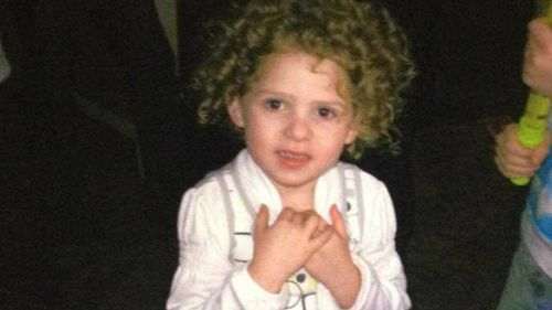 Chloe Valentine, aged 4, died when her mother and partner repeatedly put her on a 50kg motorbike and filmed her crashing into objects. (AAP)