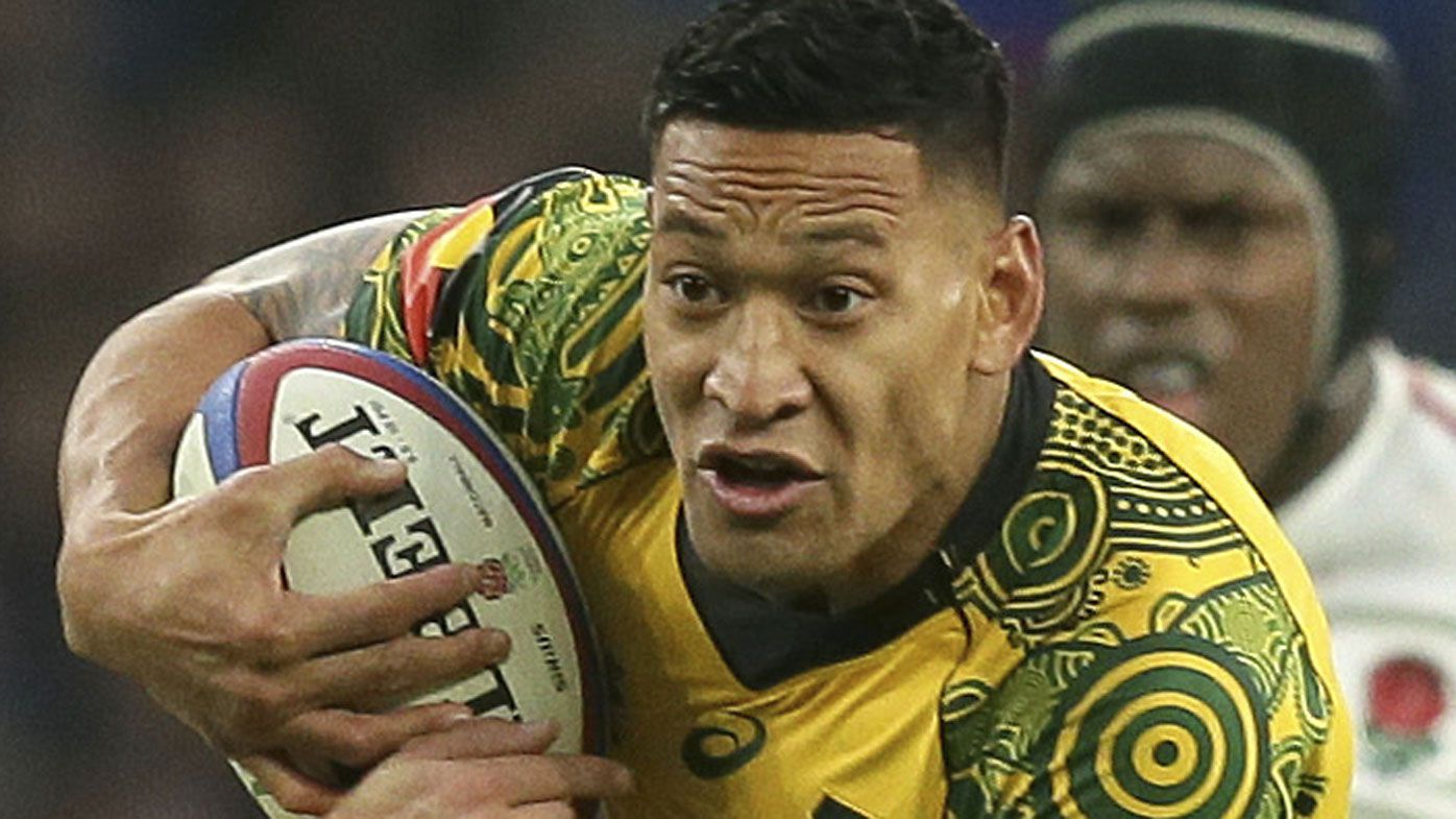 Israel Folau to be sacked unanimously by panel, falls out with agent, reports say