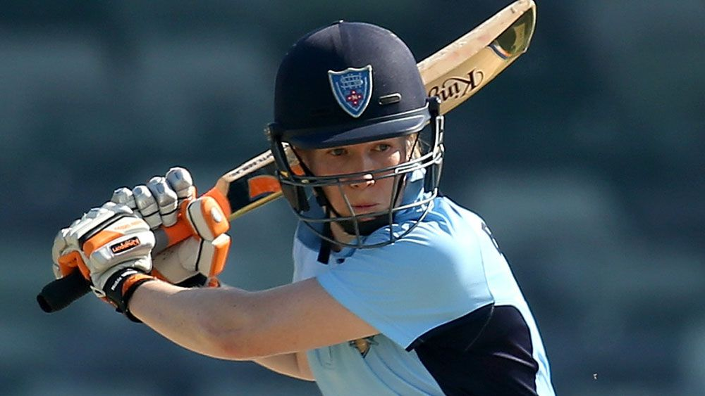 NSW Breakers captain Alex Blackwell has lauded the move. (Getty Images)