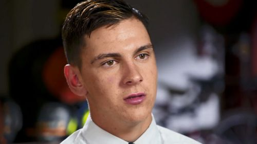 Dylan Voller speaks with 60 Minutes. (60 Minutes)