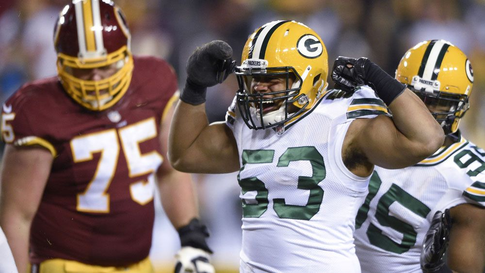 Packers pound Washington in NFL playoffs