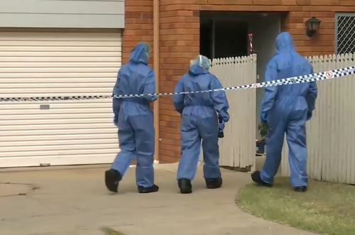 Police found the woman dead in her Rockhampton home. (9NEWS)