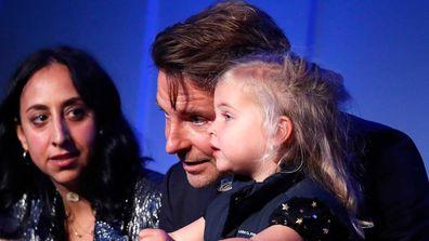 Bradley Cooper and Lea De Seine Shayk Cooper.