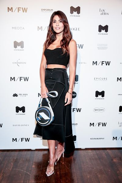 Pia Miller at Melbourne Fashion Week September 2018