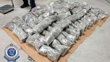 A man has been charged after attempting to smuggle over $1,000,000 worth of cannabis across the New South Wales – Queensland border.
