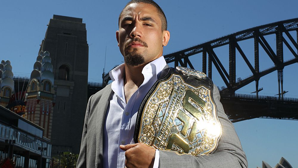 UFC middleweight champion Robert Whittaker withdraws from UFC 221 bout with Luke Rockhold in Perth