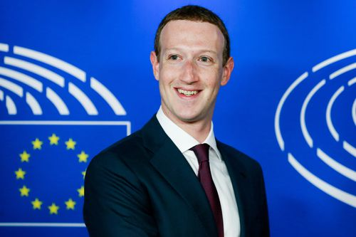 Facebook CEO Mark Zuckerberg has fronted a European Parliament hearing in Brussels over the data hacking scandal. Picture; AAP