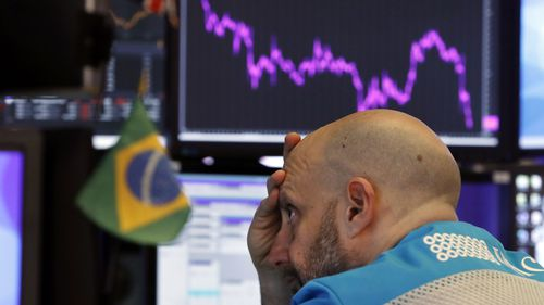 Stocks Briefly Tumble Into Correction Territory On Coronavirus Fears