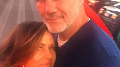Lisa Wilkinson and Peter FitzSimons celebrate their love in New York City: Photos
