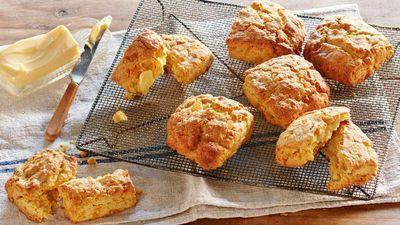 "Recipe: <a href=""https://kitchen.nine.com.au/2017/08/04/15/25/curtis-stones-kabocha-pumpkin-scones"" target=""_top"">Curtis Stone's kabocha pumpkin scones</a>"