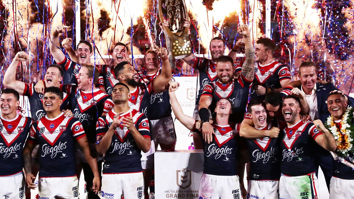 The Roosters become back-to-back premiers in 2019