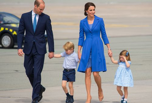 The family on an overseas engagement. (PA/AAP)