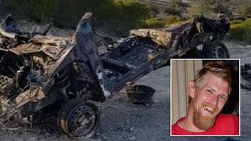 The Toyota Echo police linked to the murder of Mark Boyce. Picture: SA Police