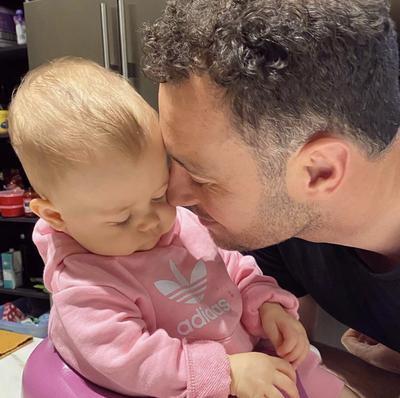 Father's Day 2020: Jake Wall and Jennifer Hawkins