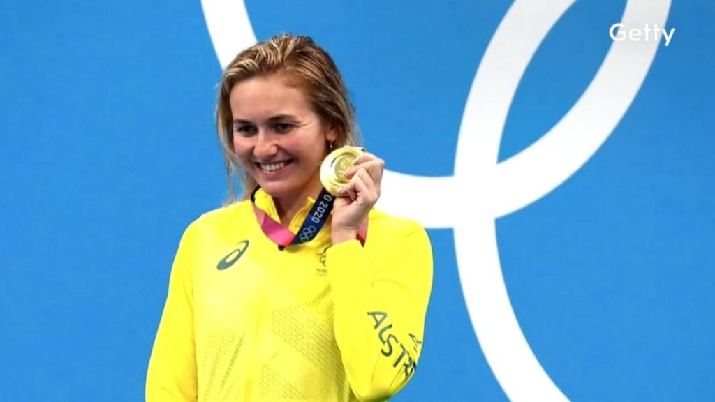 Tokyo Olympics 2021: Ariarne Titmus wins gold, claims OR in 200m freestyle final