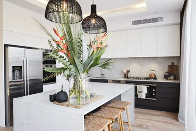 <strong>Josh and Elyse's winning kitchen, 2017</strong>