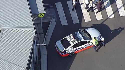 A police operation is underway at the four Sydney hospitals. (9NEWS)