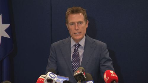 Christian Porter addressed the claims at a media conference in Perth this afternoon.