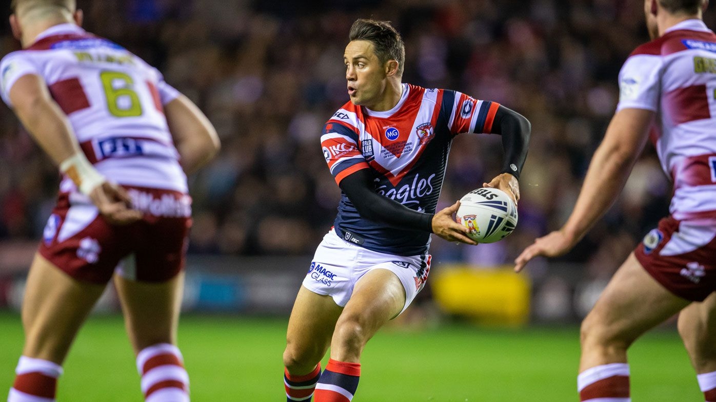Cooper Cronk happy with shoulder after Wigan World Club Challenge test