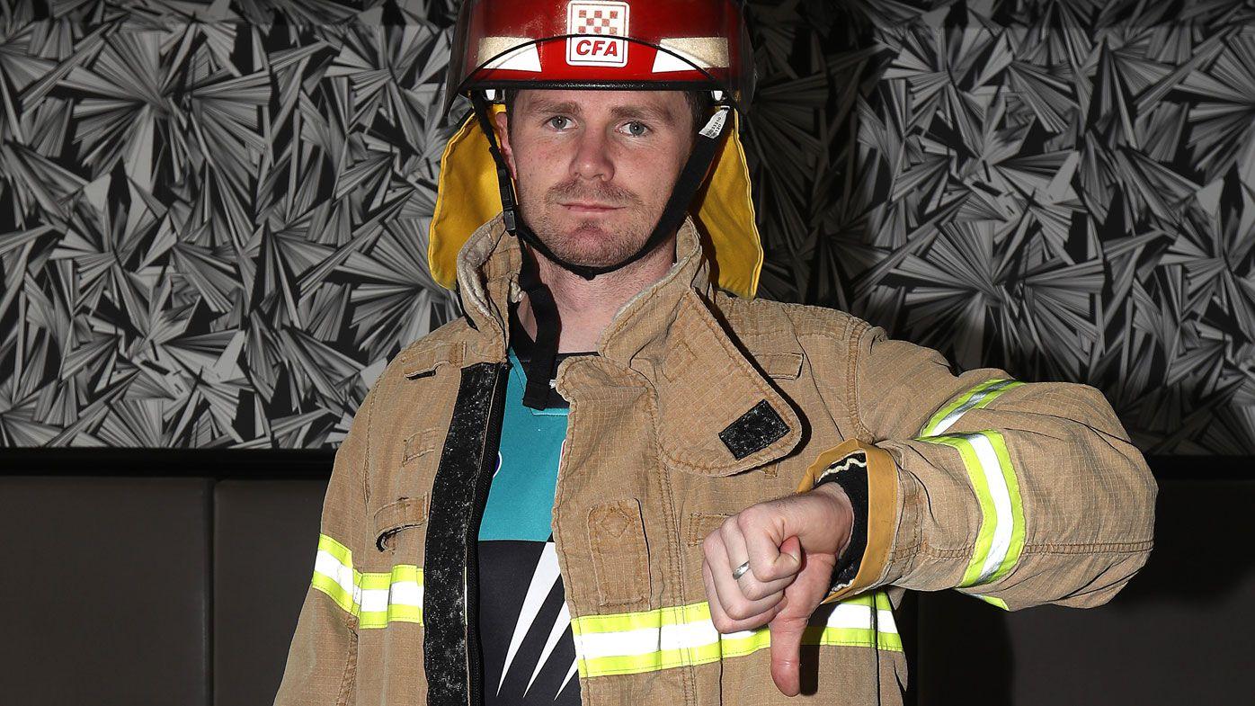 Geelong's Wacky Wednesday pictures: Patrick Dangerfield renews Kane Cornes battle