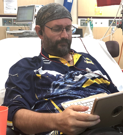 Jason has been diagnosed with terminal bowel cancer.