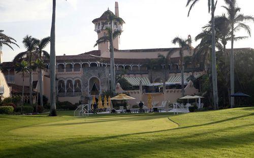 The Mar-a-Lago resort in Palm Beach, Florida.