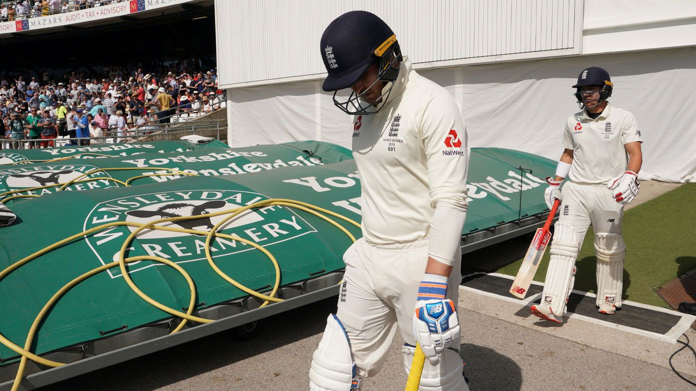 Roy was dismissed early again in England's second innings