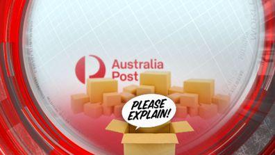 Australia Post please explain