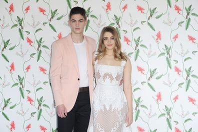 Hero Fiennes-Tiffin and Josephine Langford