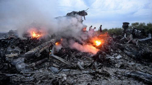 The Budget includes funding to help bring those who brought down MH17 to justice. (Picture: AAP)