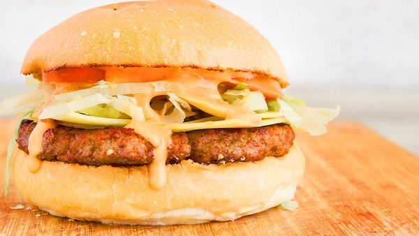 Chargrill Charlie's classic cheese beef burger recipe