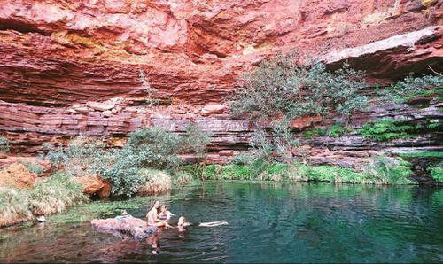 Secluded waterholes and serene swimming spots around every corner.