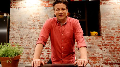 Jamie Oliver at an event in Sydney in March, 2014. (AAP)