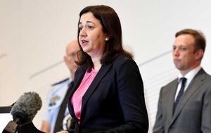 Prime Minister and Queensland Premier trade swipes over coronavirus border opening