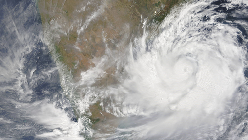 Cyclone Fani India by Nasa