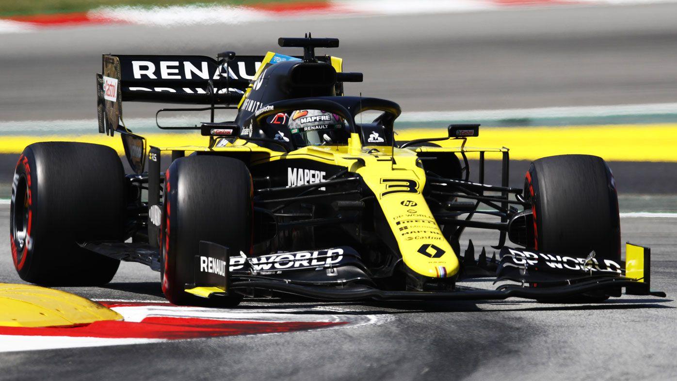 F1 Spanish Grand Prix qualifying results: Lewis Hamilton pole, Daniel Ricciardo 13th