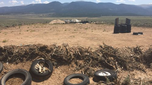 Siraj Ibn Wahhaj was conducting weapons training  at the compound near the Colorado border where authorities say they found 11 hungry children living in filthy conditions.