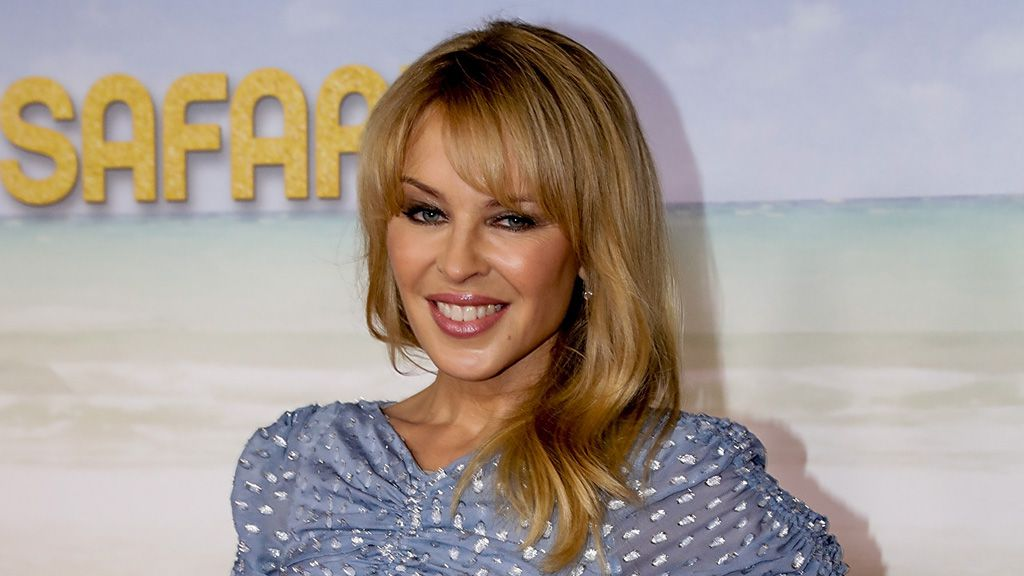 Kylie Minogue supports Australian fashion
