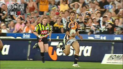 Benji Marshall pays homage to Pat Richards for role in 2005 grand final flick pass