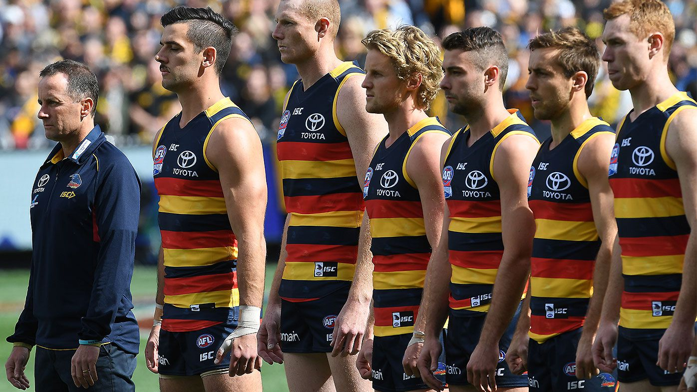 Explosive report unearths new details about Adelaide Crows' horror 2018 pre-season camp