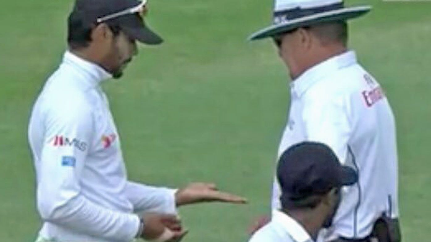 Chandimal charged with ball-tampering