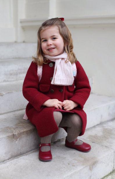 The way Princess Charlotte welcomes guests at Kensington Palace will make you smile