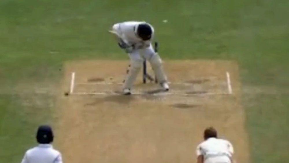 Cricket: Mathews bowled over by bizarre brain fade